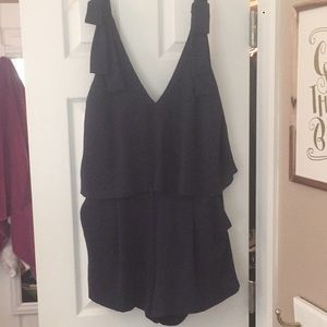 H&M navy blue romper